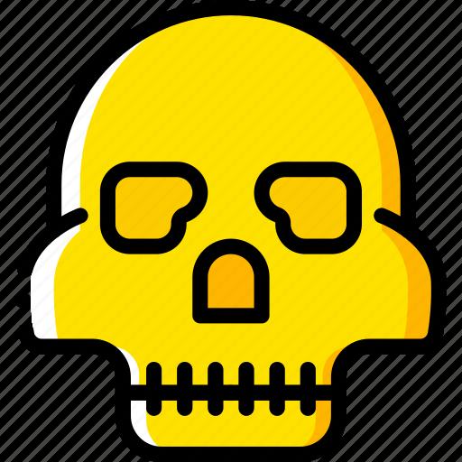 game, gamer, interactive, skull icon