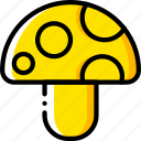 game, gamer, interactive, mushroom icon