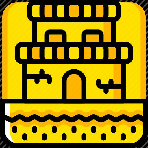 castle, game, gamer, interactive icon