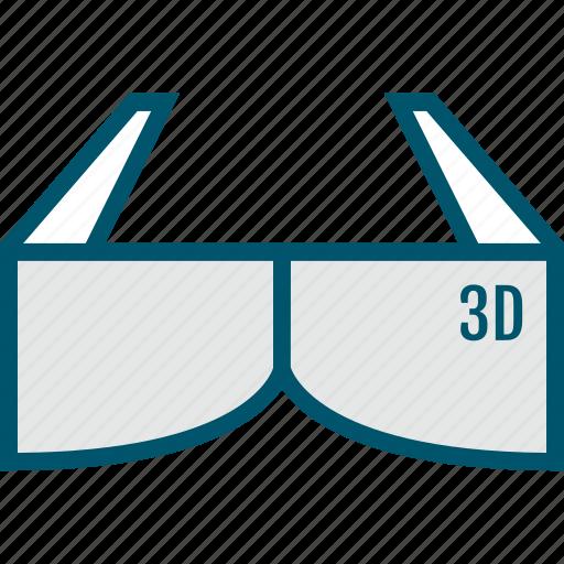 gadget, glasses, reality, virtual, wear icon