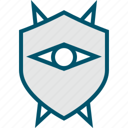 enemy, eye, mask, shield, zelda icon