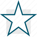 favorite, game, retro, special, star, video icon