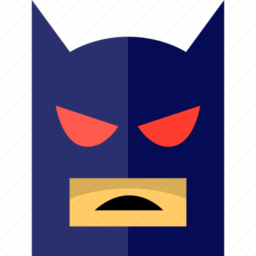 batman, game, gaming, lego, mask, video icon