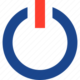 game, gaming, on, power, video icon