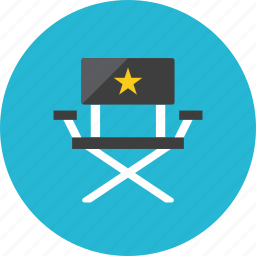 chair, director icon