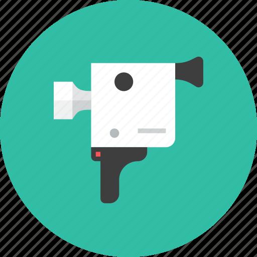 3, camera, video icon
