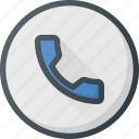 answer, call, conference, meeting, online, video icon