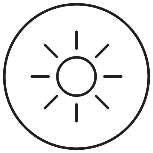 adjust, bright, brightness, contrast, control, setting icon