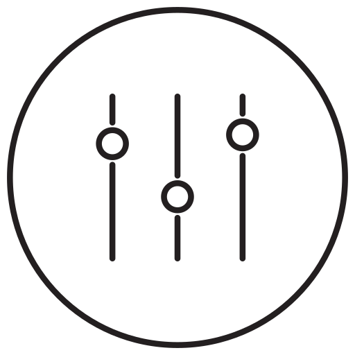 configuration, control, equipment, options, preferences, setting, tools icon