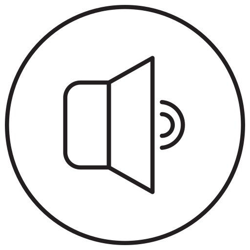 communication, media, music, song, sound, speaker, volume icon