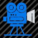 camera, capture, film, movie, professional