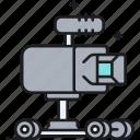 camera, camera dolley, dolley, rover