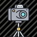 camera, photo, photography, tripod