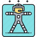 capture, motion, motion capture icon