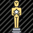 award, oscar, oscars, reward, star, trophy