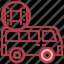 arrows, distribution, entertainment, film, flim, transport icon