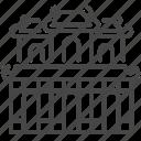building, citadel, gate, hien nhon, travel, vietnam, vietnamese icon