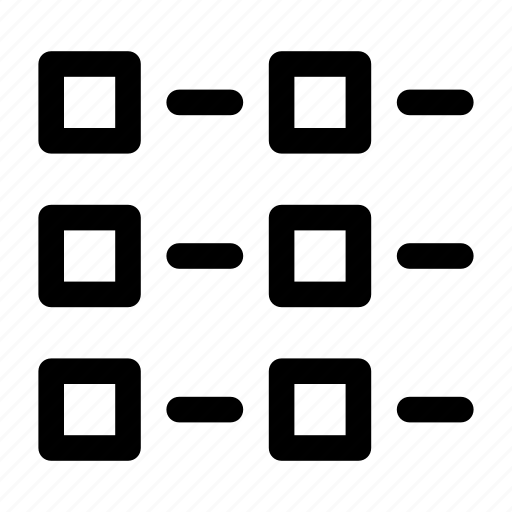 articles, explorer, files, list, tile, view, view mode icon