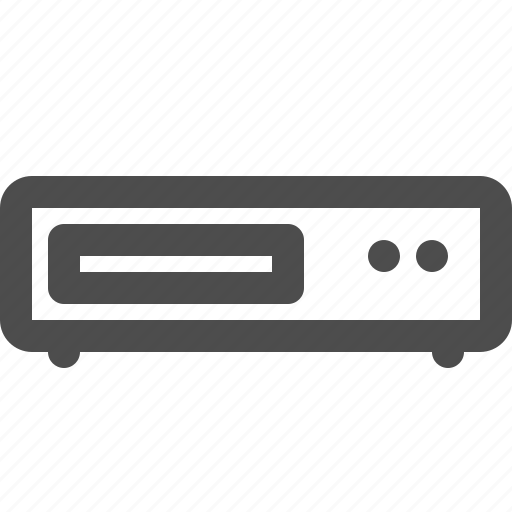 device, disc, dvd, player icon