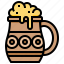 beer, beverage, jug, mug icon