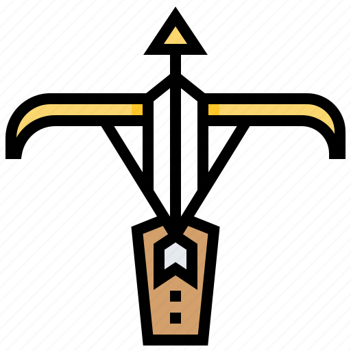 Archer, arrow, bow, crossbow, weapon icon - Download on Iconfinder