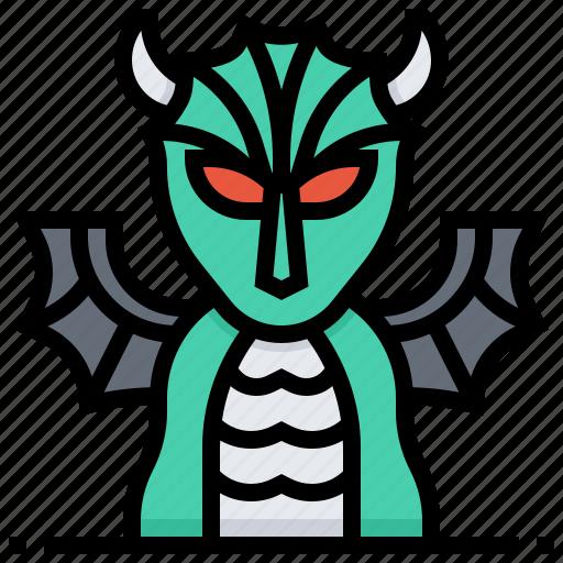 Animal, devil, dragon, monster icon - Download on Iconfinder