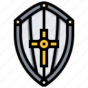 armour, protect, shield, warrior, weapon icon