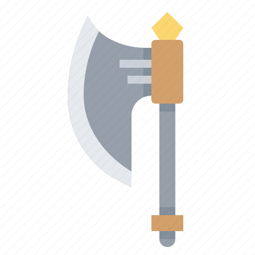 axe, battle, warrior, weapon icon