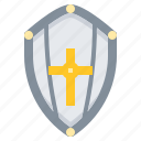 warrior, armour, shield, weapon, protect icon