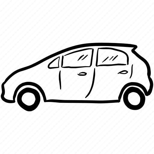 Car Delivery Fiat Vehicle Icon