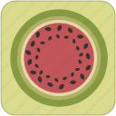 cute, food, fresh, fruit, green, helathy, melon icon