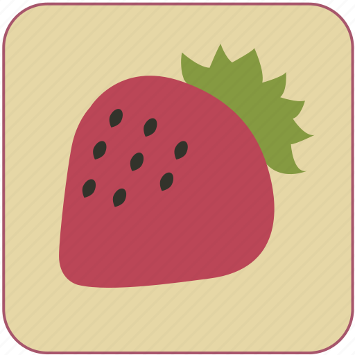 berry, cute, food, fresh, fruit, healthy, minimalistic icon