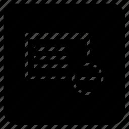 application, cut, erase, minus, select, window icon
