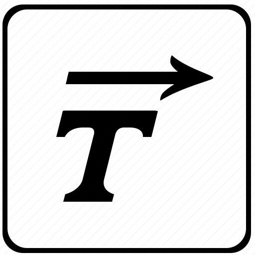 format, italic, letter, style, text, word icon