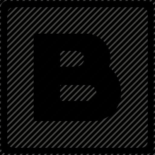 alphabet, b, english, language, latin, letter, uppercase icon