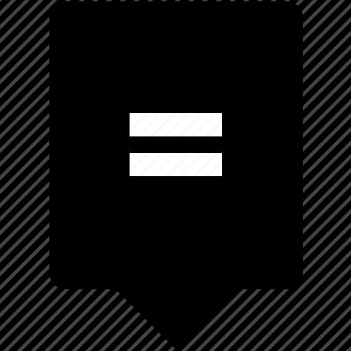 equal, equally, function, keyboard, math, mobile icon