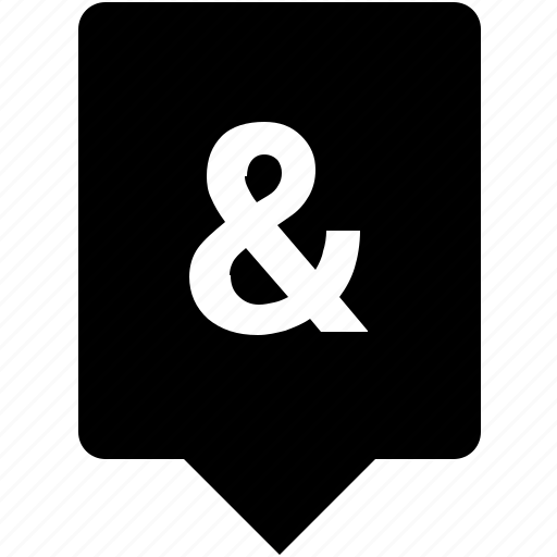 ampersand, keyboard, mobile, sign, special icon
