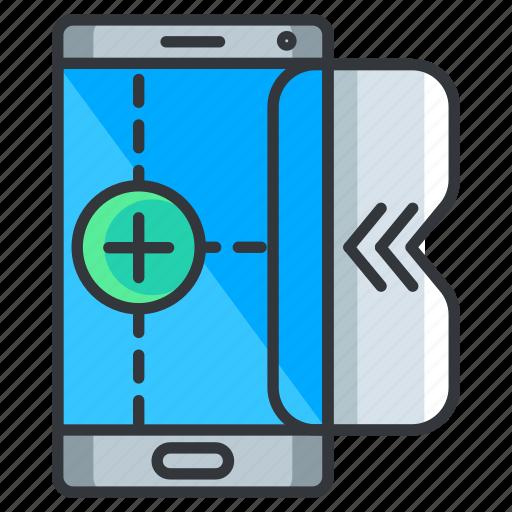 add, mobile, new, phone, smartphone icon