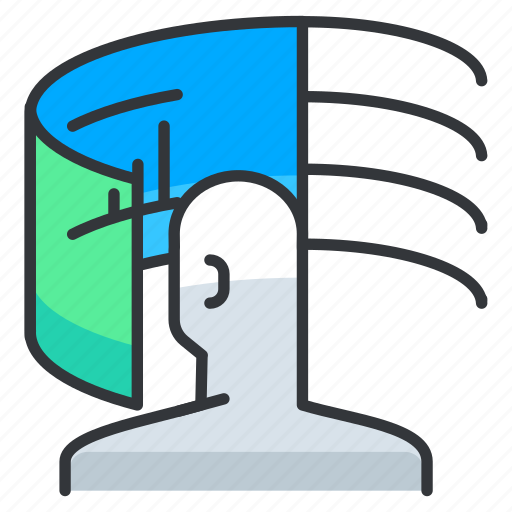 Bar, chart, reality, virtual icon - Download on Iconfinder