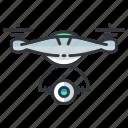 camera, drone icon