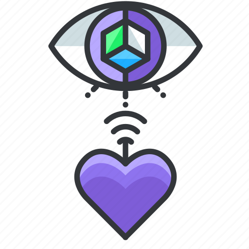 Favorite, heart, reality, virtual icon - Download on Iconfinder