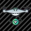 delivery, drone, favorite
