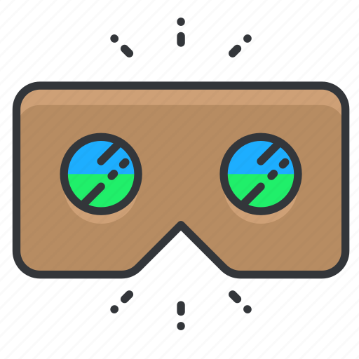 glasses, goggles, vision icon
