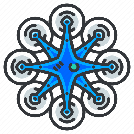 Drone, fan, multiple icon - Download on Iconfinder