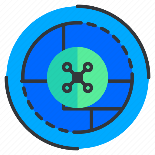 location, navigation, reality, scan, virtual icon
