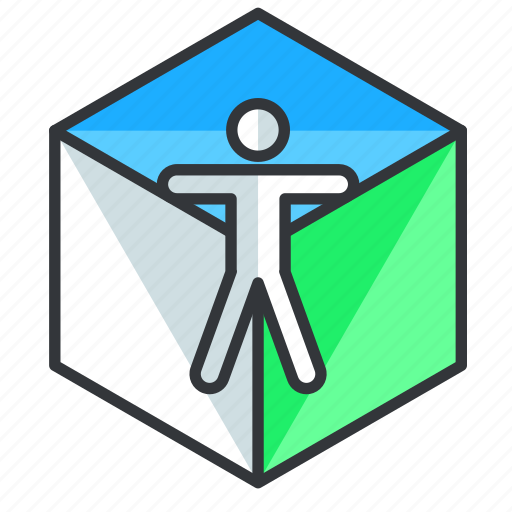 Person, reality, virtual, vr icon - Download on Iconfinder
