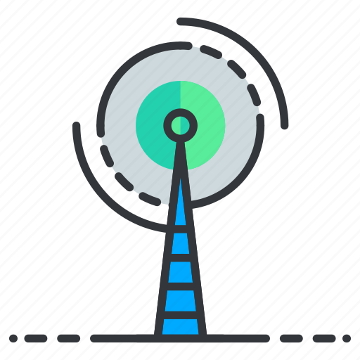 Network, satellite, signal, tower icon - Download on Iconfinder