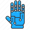 glove, reality, virtual, vr icon