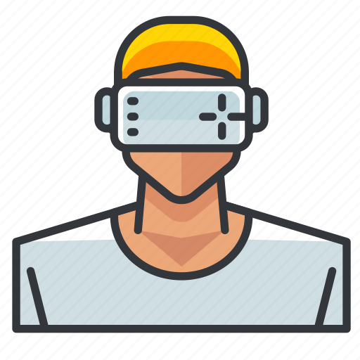 Goggles, man, vr icon - Download on Iconfinder on Iconfinder