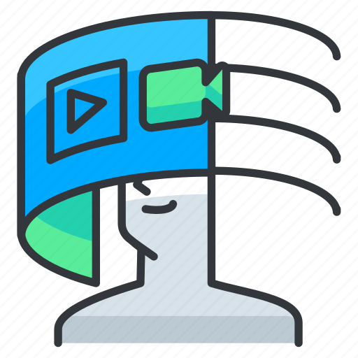 Reality, video, virtual, watch icon - Download on Iconfinder
